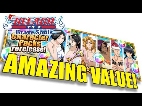 [Bleach Brave Souls] OG Swimsuit Character Packs Return! Best Value!