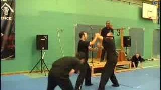 Wing Chun Blindfolded Fight