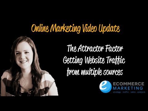 The attractor factor get more traffic to your website