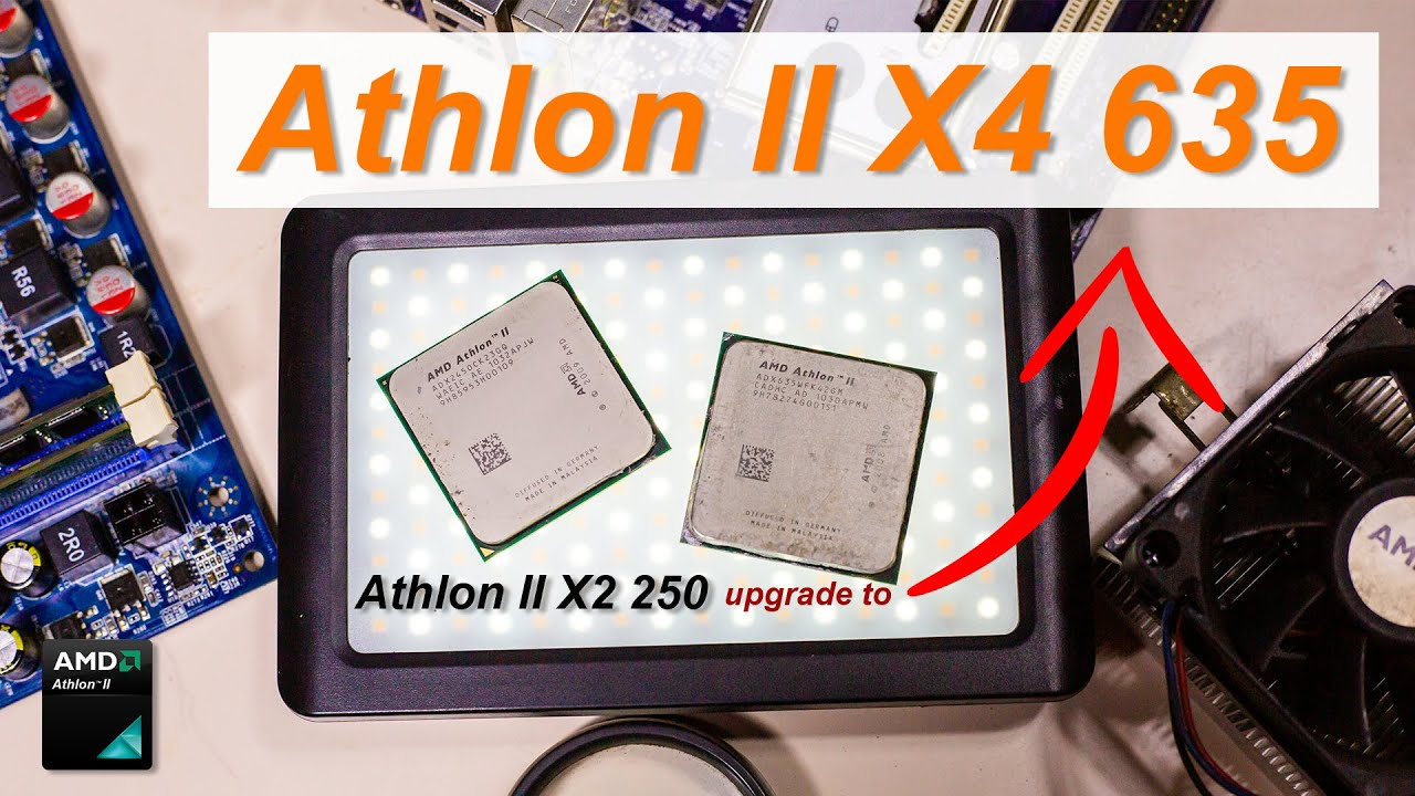 Amd Athlon Ii X4 635 With 4 Cores 4 Threads Will This Be An Upgrade Option To Athlon Ii X2 250 Youtube