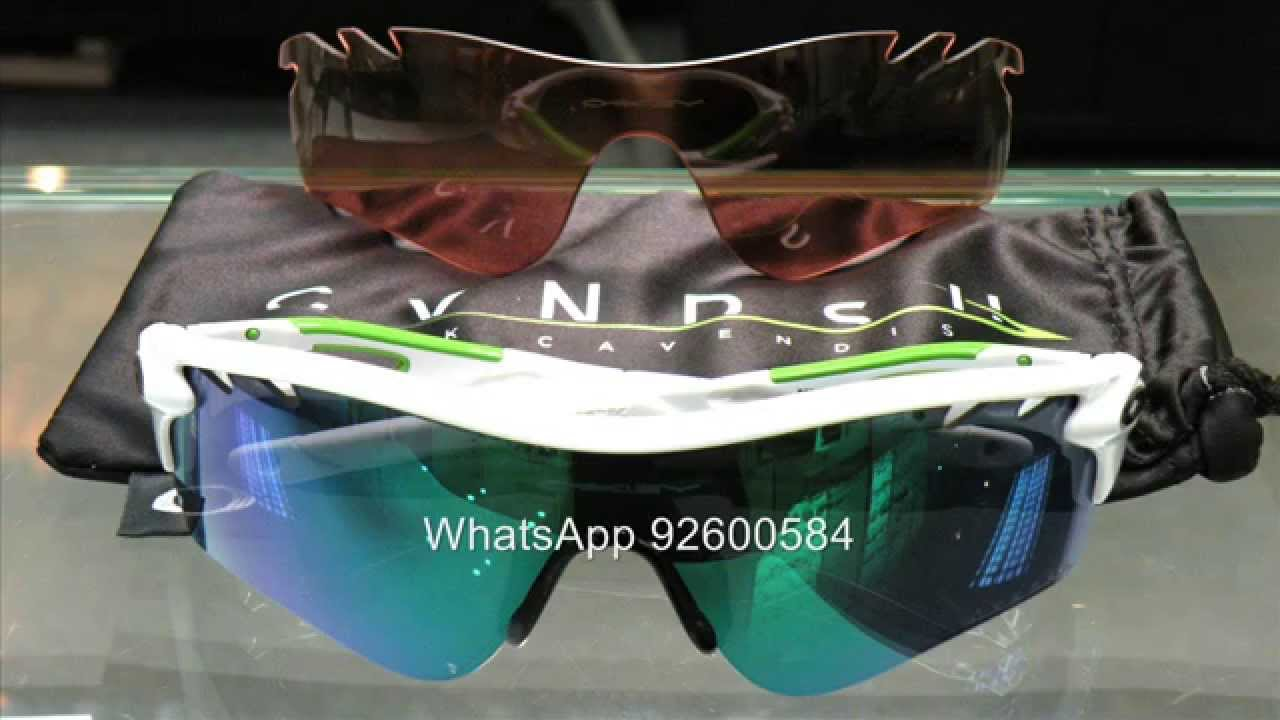 9616029c8c1 Oakley MARK CAVENDISH 特別版Radarlock 太陽眼鏡- YouTube