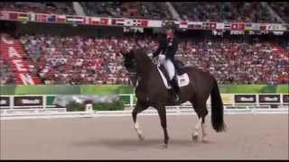 Всемирные конные игры выездка, золото