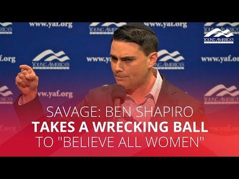 SAVAGE: Ben Shapiro takes a wrecking ball to