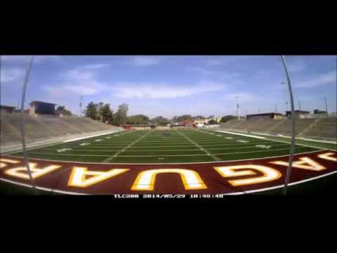 Time lapse of the turf being installed at SWC's DeVore Stadium