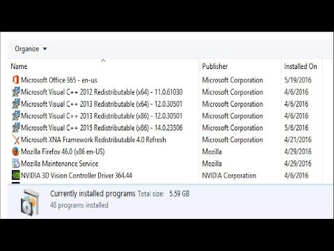 Why We Have So Many Microsoft Visual C++ Redistributable