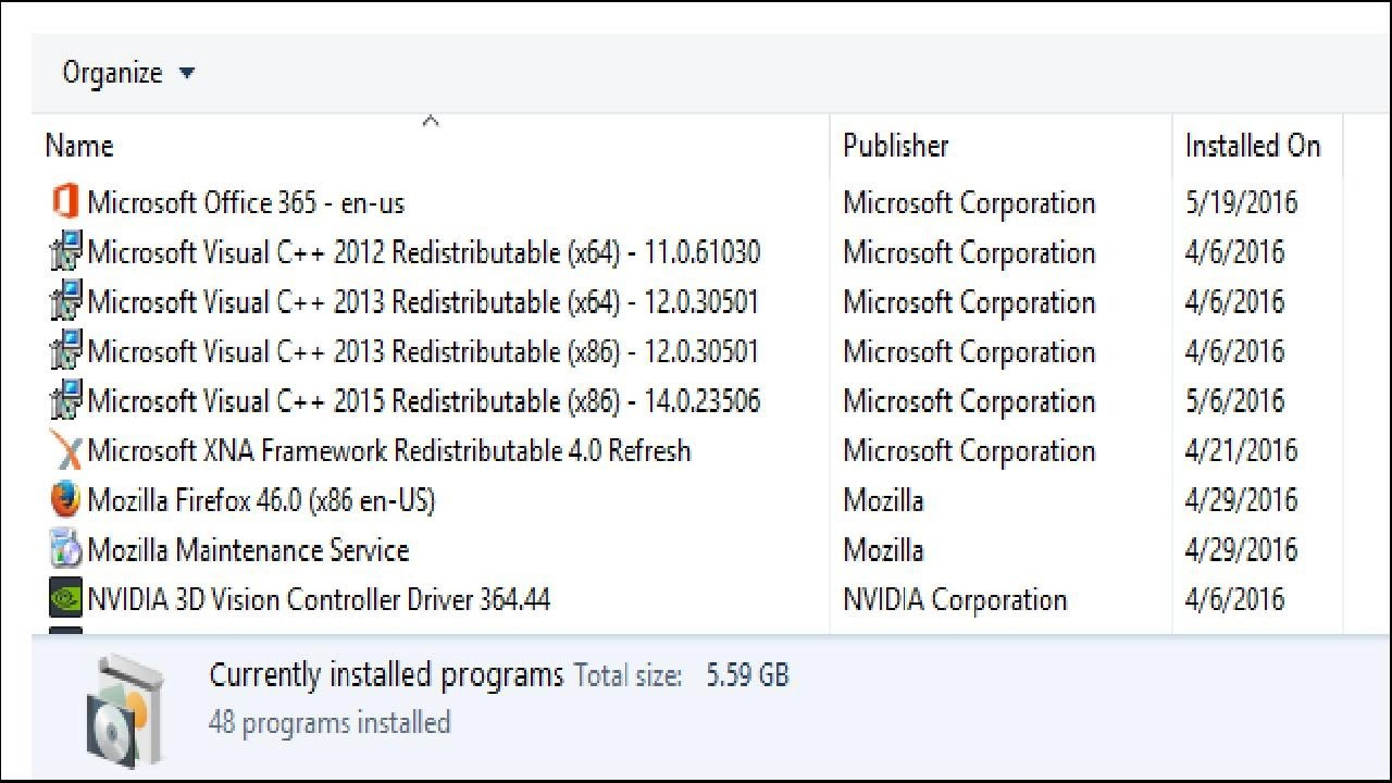 microsoft visual c++ redistributable 2012 r2
