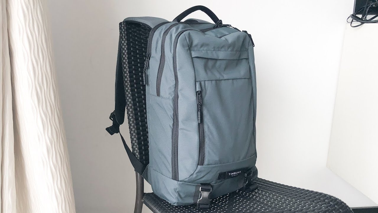 3ef1afa3a5e Timbuk2 Authority Laptop Backpack - Initial Review & Tour