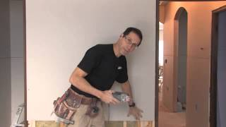 Cutting out electrical boxes
