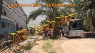 Nilschiff MS Lady Mary Aegyptenurlaub Nilkreuzfahrt 2012 carly4711 Info clip
