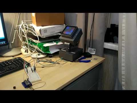 Управление светильником ERCO по протоколу DALI с помощью ARDUINO NANO