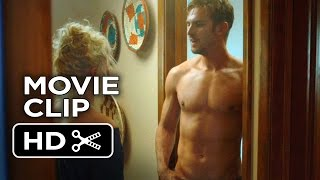 The Guest Movie CLIP - David Walks out of the Bathroom (2014) - Dan Stevens Thriller HD