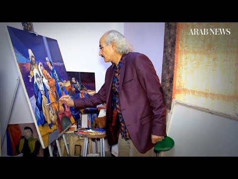 Mosul artist who hid paintings from IS thrives again