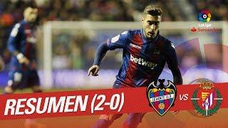 Resumen de Levante UD vs Real Valladolid (2-0)