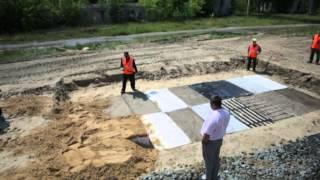 видео Инновационные материалы и технологии в строительстве дорог