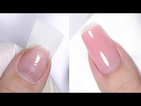 Silk Wrap Nail Extensions Tutorial