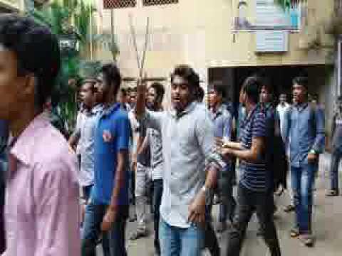 hall movement at jagannath university (JnU) (3.8.16)