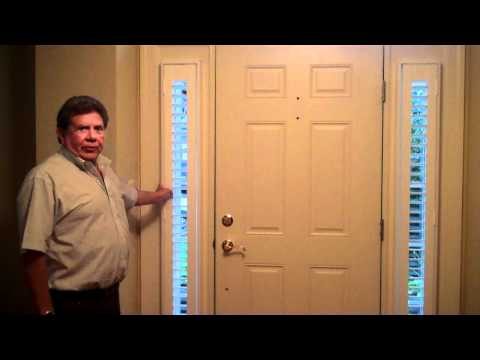 Side lite Shutters by Professional Window Treatments of Northern VA and Tampa, Florida