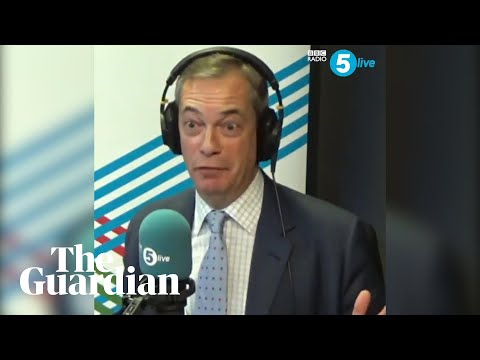 Nigel Farage doubles down on claim Tories bribed Brexit party candidates