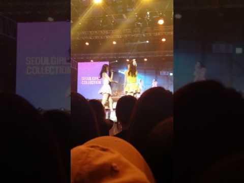 160505 Ito Mana, Kohara Haruka - I Love You Baby @서울걸즈컬렉션 SETEC