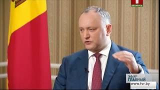 Інтерв'ю з президентом Молдови Ігорем Додоном. Головний ефір