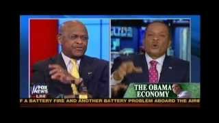 Herman Cain Completely Mocks Juan Williams and Laughs At His Face