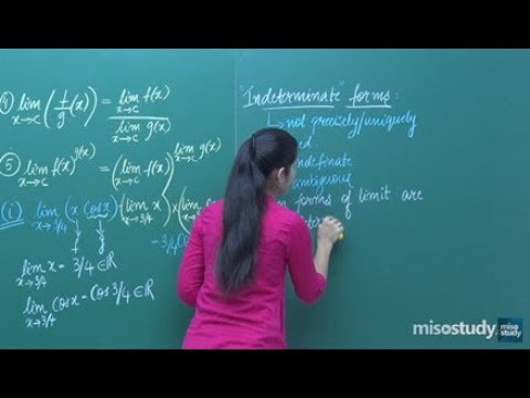 Limits and Derivatives -Indeterminate forms-1: Math for JEE Main Advanced & CBSE | Misostudy
