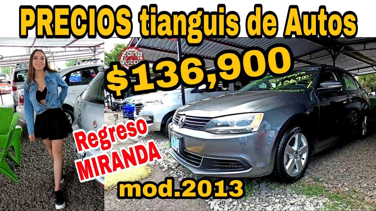AUTOS EN VENTA precios en el tianguis el TAPATIO autos usados SEMINUEVOS zona autos