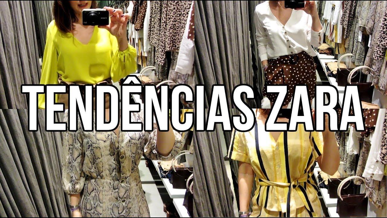 Tendências verão 2019 na Zara