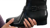 37345422549b Cole Haan Primrose Riding Boot Extended Calf SKU 8386105 - YouTube