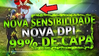 SAIU!! NOVA SENSIBILIDADE PARA SUBIR 99% DE CAPA!! IDEAL PARA ANDROID!! SÓ O FAMOSO!! FREE FIRE