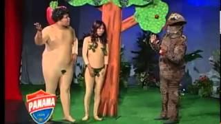 raymond y Miguel Los Reyes del Humor Adan y Eva.