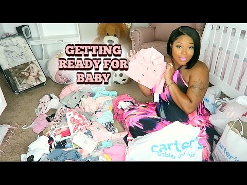 Getting Ready For Baby Girl Arrival | Mini Nursery Tour