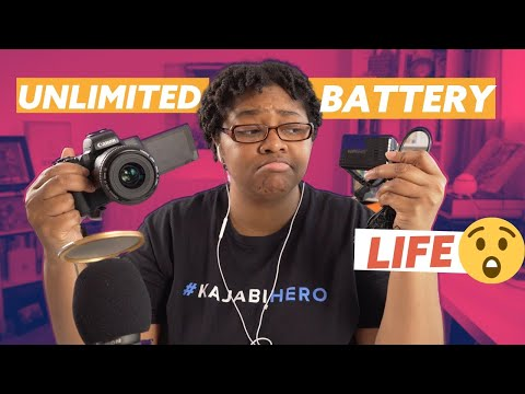 Power Adapter Options For Canon M50 [2020] | Unlimited Battery Power With Battery Bank