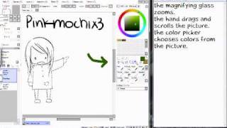 Easy Paint Tool Sai Tutorial- Tools