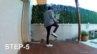 Learn to shuffle for Beginners with Jhonny Amarante _ Урок по шафл
