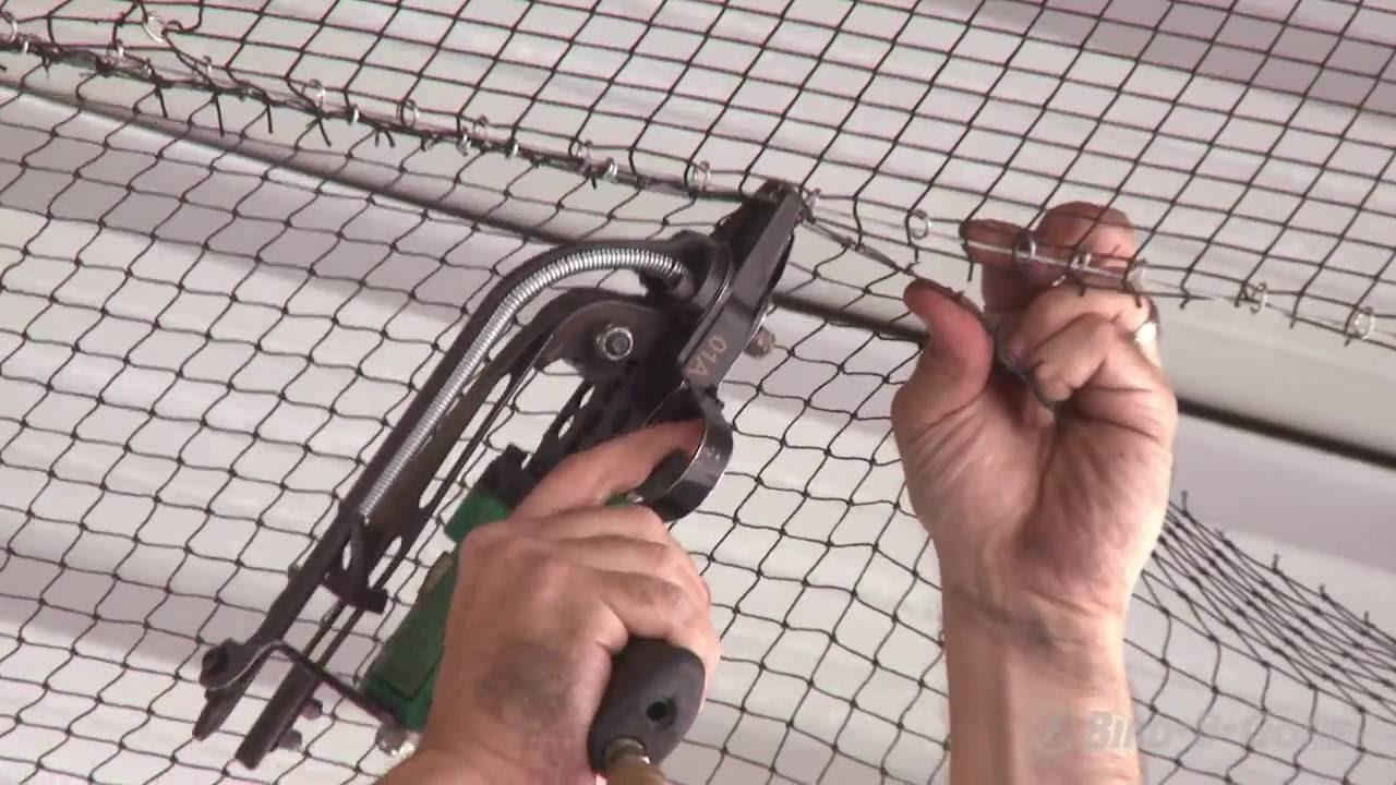 How to Install Heavy Duty Bird Netting