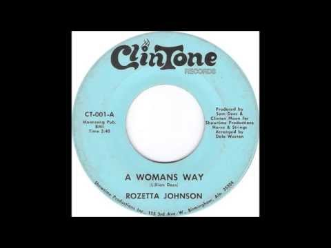 Rozetta Johnson - A Woman's Way