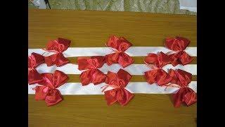 Как сделать ленты для свадебных машин