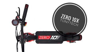 Zero 10X - Deux moteurs, 2000 Watts et 65km/h... L'alternative sérieuse aux Dualtron et Speedtrott ?
