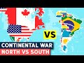 North America Vs South America - Military Comparison