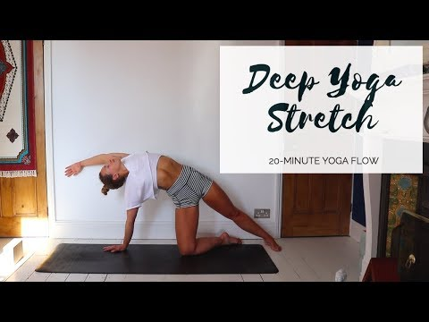 DEEP YOGA STRETCH | 20-Minute All Levels Yoga | CAT MEFFAN
