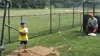 Batting cage 4 year old