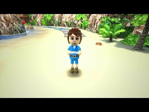 Wii Party U TV Party Showcase - Gamepad Island (4 Player)
