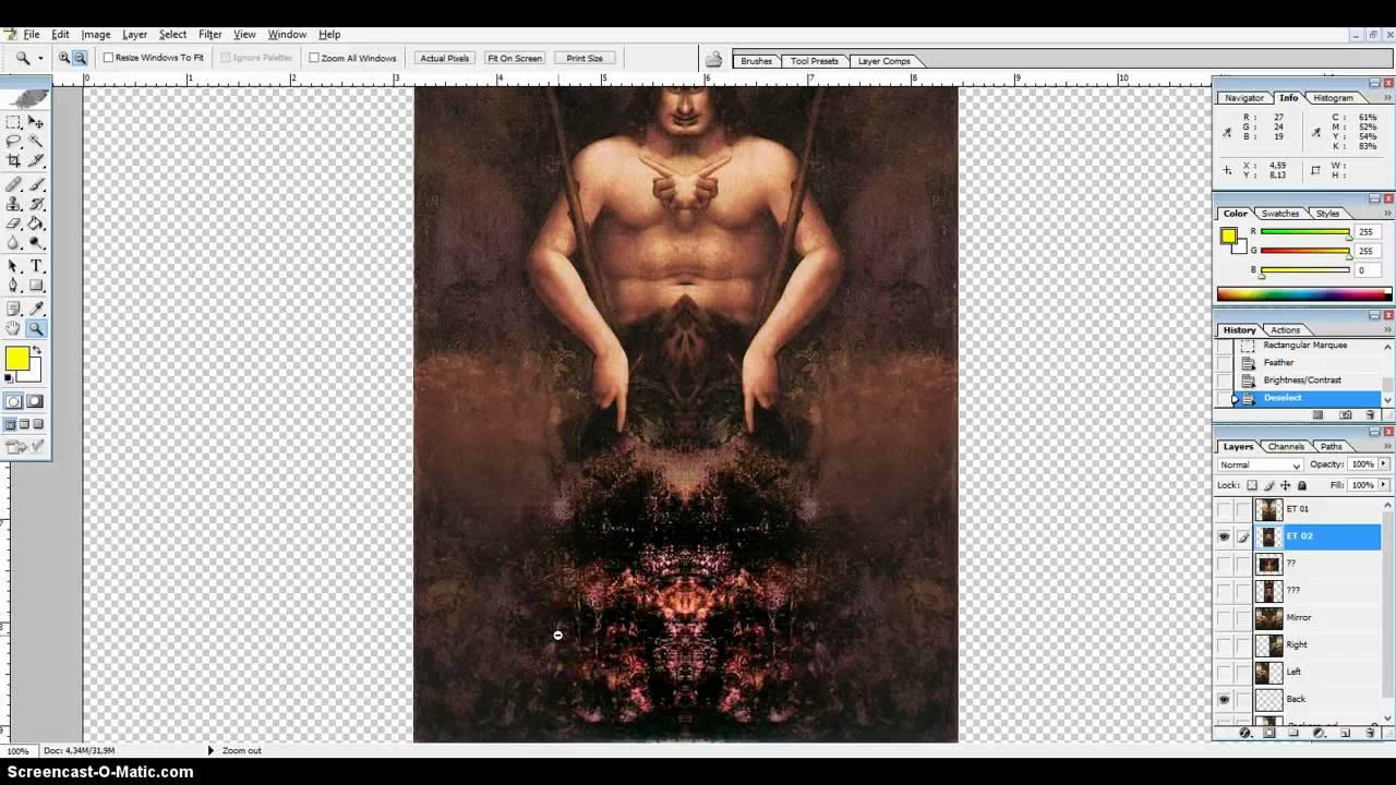 Leonardo Da Vinci Mirror Paintings - Part 01 - YouTube Da Vinci Paintings Mirrored
