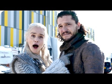Tour the Games of Thrones Set with Emilia Clarke (Daenerys Targaryen) // Omaze