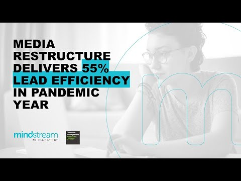 Media Restructure Delivers 55% Lead Efficiency in Pandemic Year