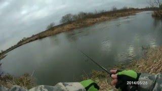 Секретная стоянка щуки - щука на спиннинг, малая река Неман (Беларусь) / Pike fishing(В предыдущем видео я показывал точно такое же место. Но тогда ловил твичингом. В данном случае вы можете..., 2016-03-18T19:48:24.000Z)
