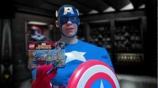 Captain America Reviews LEGO Marvel Superheroes: Captain America's Avenging Cycle (6865)