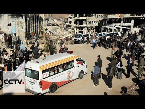Red Cross aid reaches Madaya, Zabadani, Foah & Kefraya