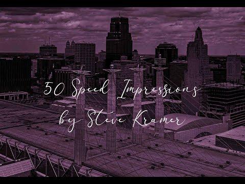 50 Speed Impressions By Steve Kramer
